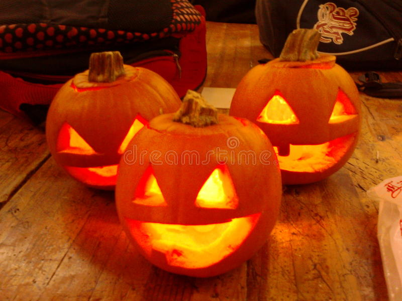 Pumpkins1 arkivbilder