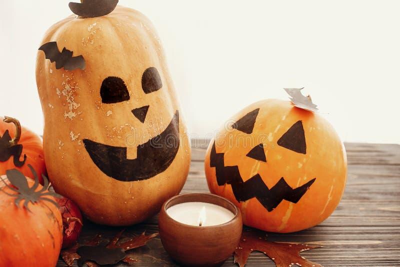 Jack-o-Lantern pumpkin Halloween Fall decor Halloween decoration Three candle cups favor cups Orange pumpkin Fall decor autumn decor hallowe