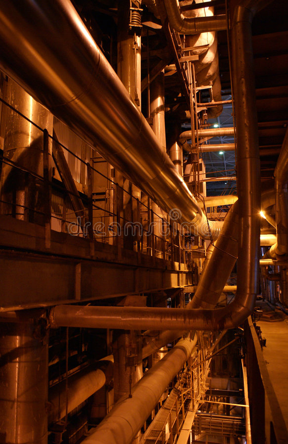 Free Pumps On Power Plant Stock Photo - 1802500