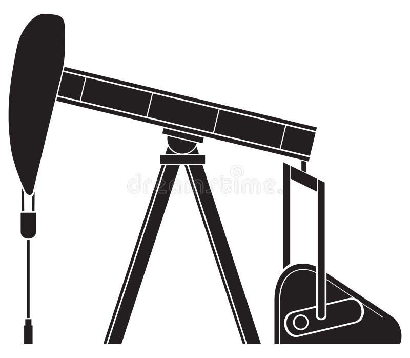 Pumpstålar stock illustrationer