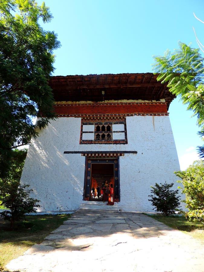 Punakha Dzong, Μπουτάν στοκ εικόνα