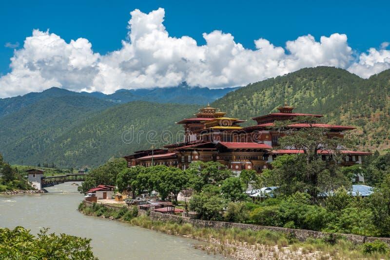 Punakha Dzong image stock