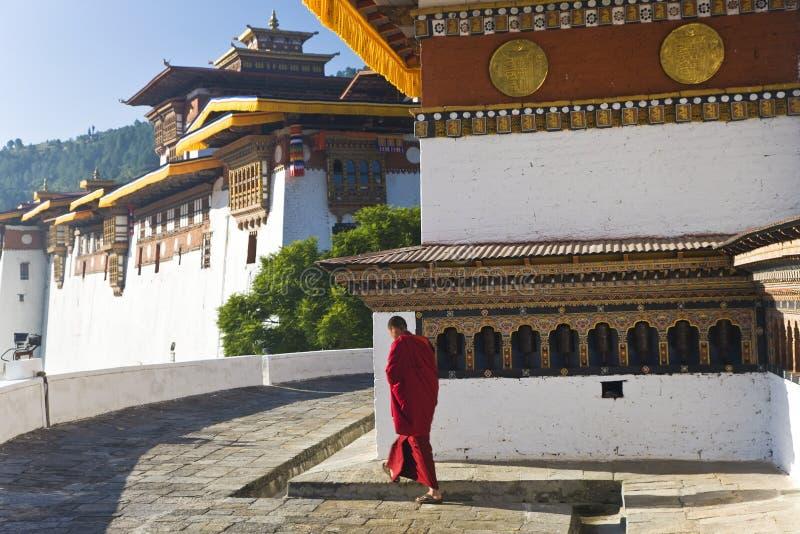 Punakha Dzong royalty-vrije stock afbeeldingen