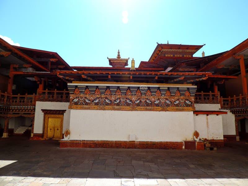 Punakha Dzong, Bhutan royalty-vrije stock afbeeldingen