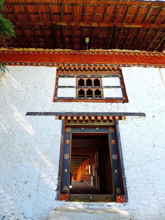 Punakha Dzong, Bhutan royalty-vrije stock fotografie