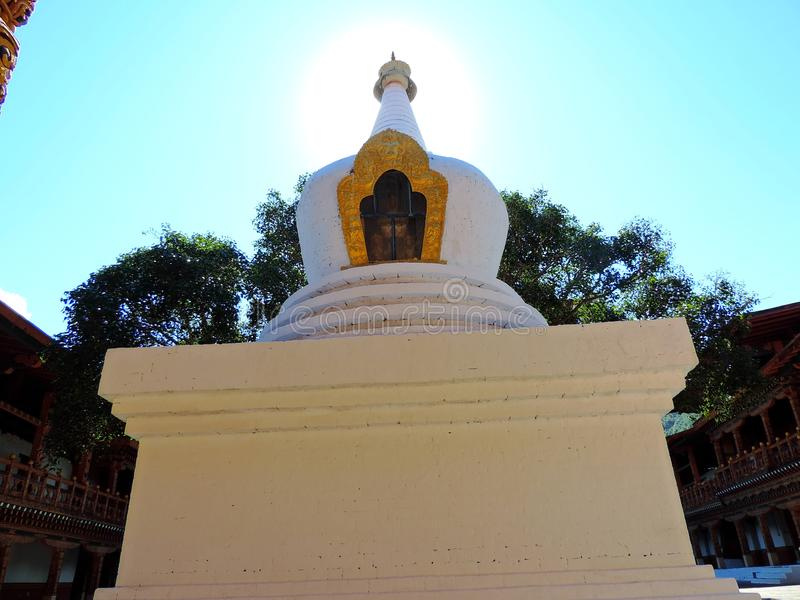Punakha Dzong, Bhutan stock afbeeldingen