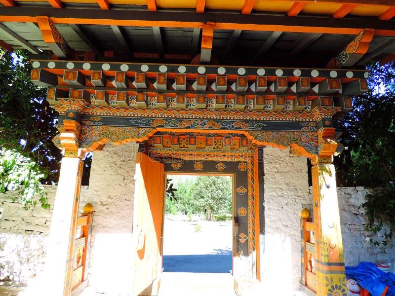 Punakha Dzong, Bhutan royaltyfri bild
