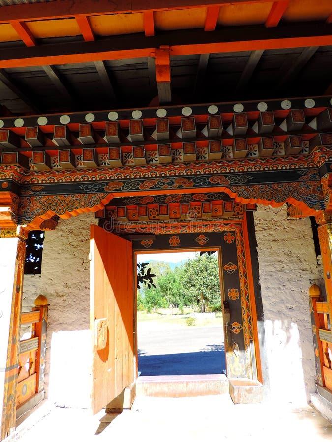 Punakha Dzong, Bhutan royaltyfria bilder
