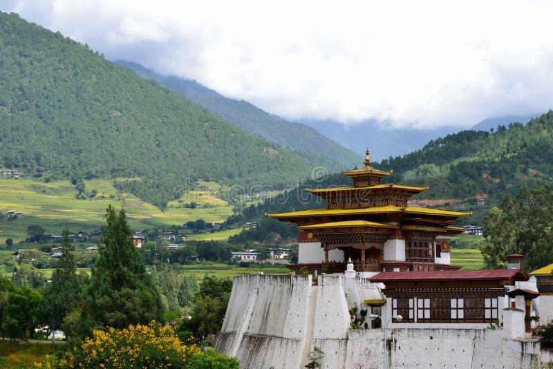 Punakha Dzong, Bhutan stock fotografie