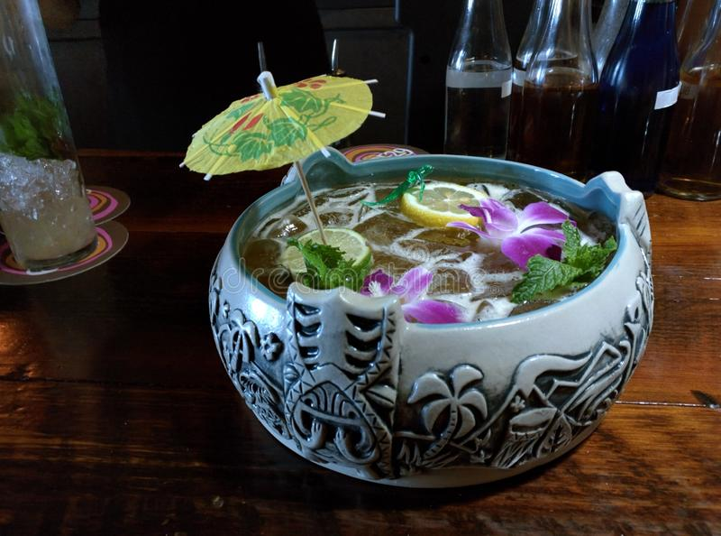 Punch bowl stock images