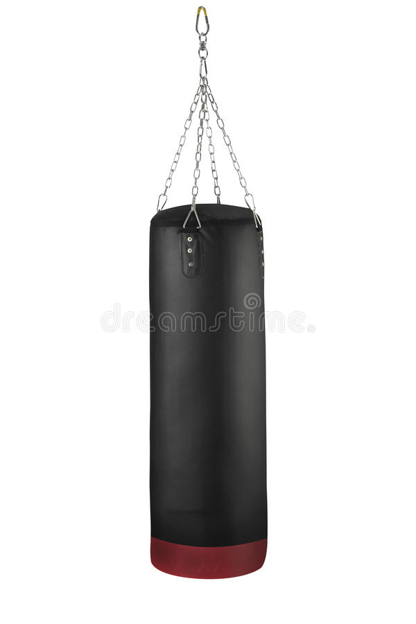 Punching τσάντα στοκ εικόνες