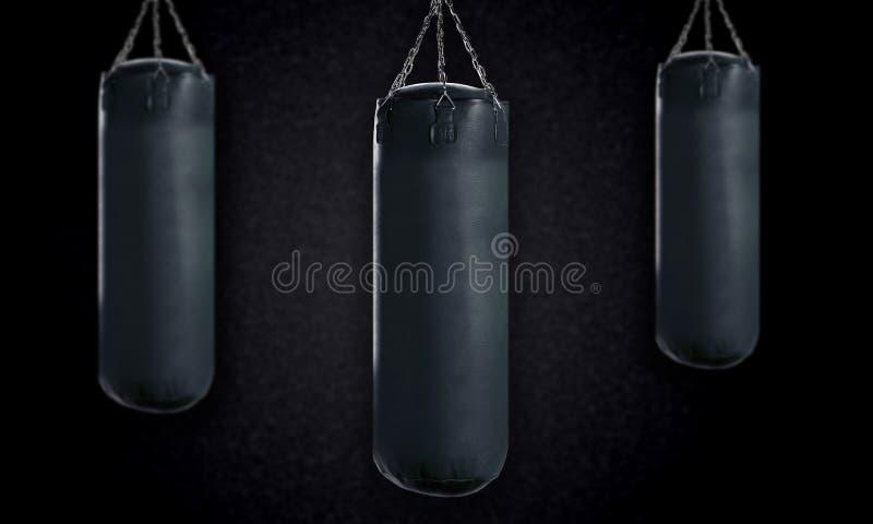 Punching ball fotografia stock libera da diritti