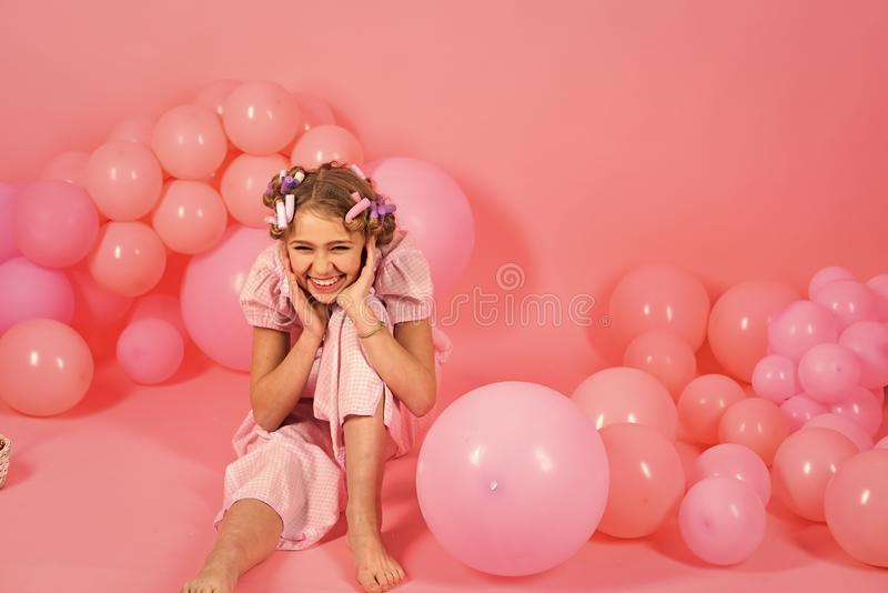 Punchy pastell, pajamaparti royaltyfri fotografi