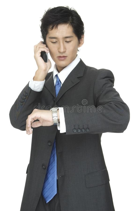 Punctuality stock image