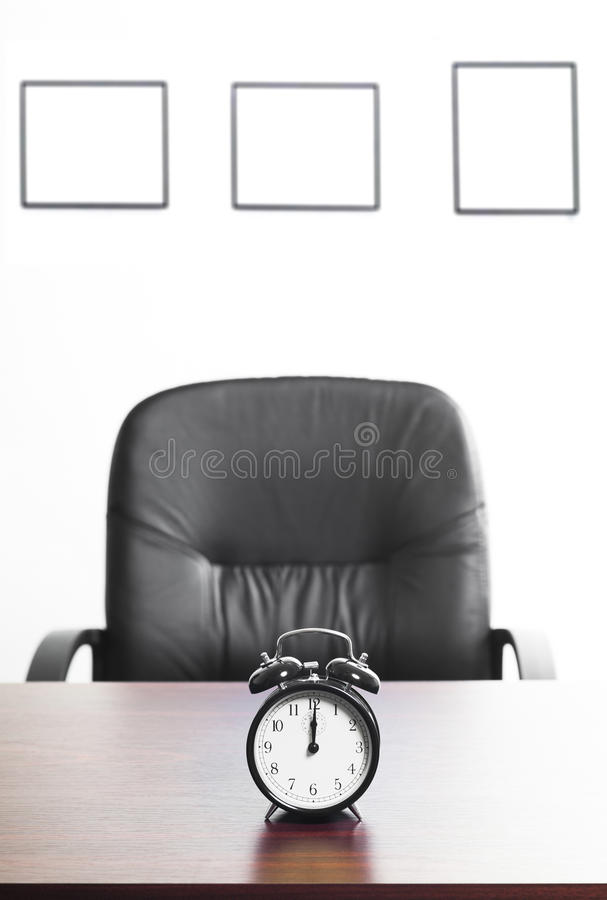 Punctuality In Business Stock Image