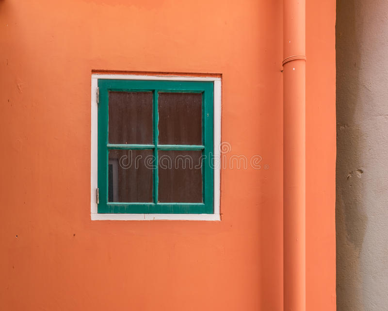 Punda窗口-库拉索岛景色 库存照片