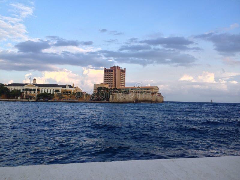 Punda hermoso en Willemstad, Curaçao imágenes de archivo libres de regalías