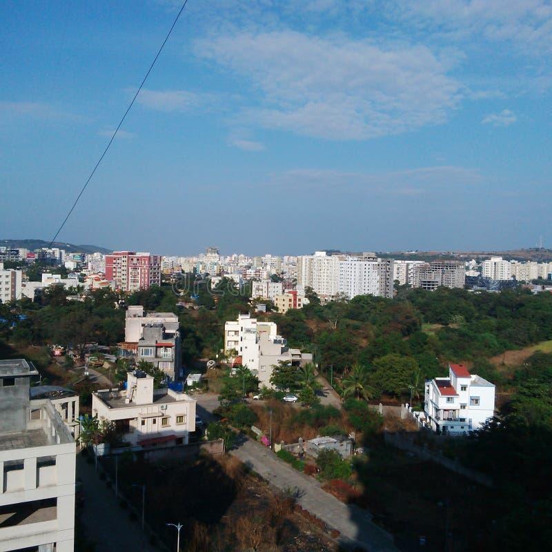 Pune miasto zdjęcie royalty free