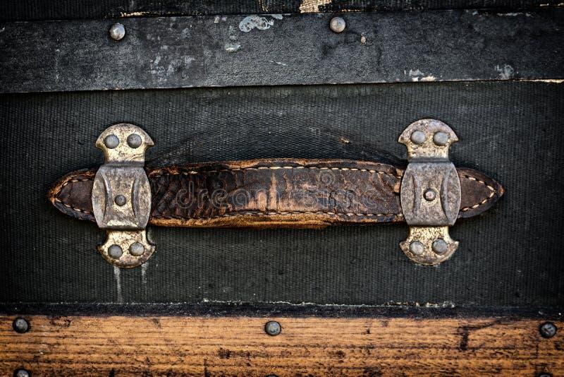 Punho de couro antigo foto de stock royalty free