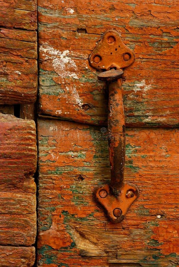 Punho de porta fotografia de stock