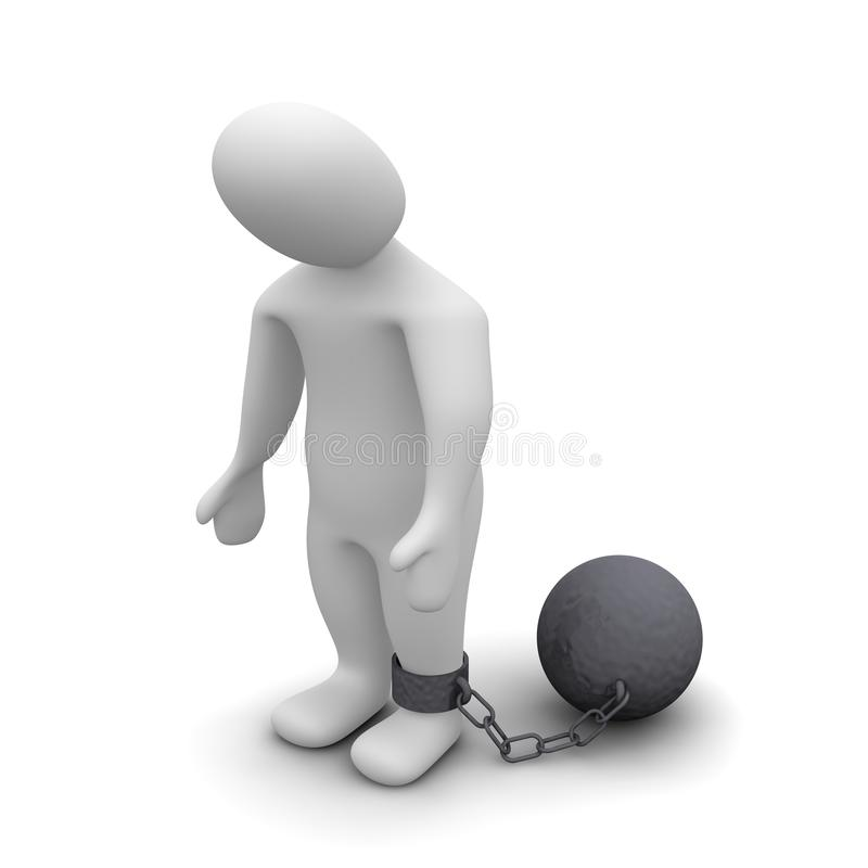 Punished criminal
