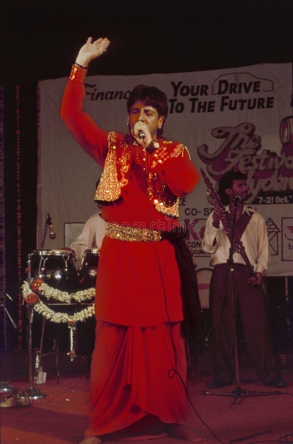 Punjabi Folklore-Sänger Gurdas Maan stockfotos