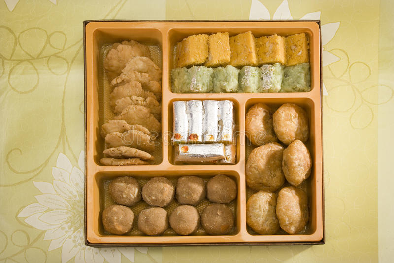 Punjabi indiano delicioso Bhaji dos doces fotografia de stock