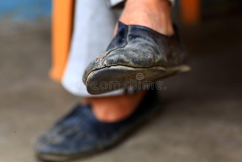 Punjabi khussa shoes royalty free stock image