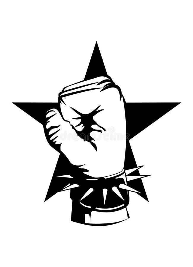 punk royalty ilustracja
