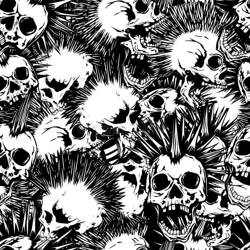Punk_background иллюстрация вектора