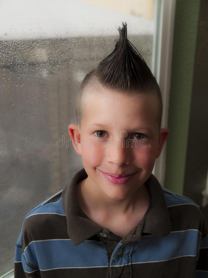 Punk child royalty free stock photo