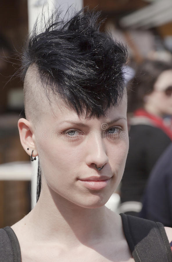 Download Punk fashion editorial photo. Image of dyed, punk, urban - 31596321