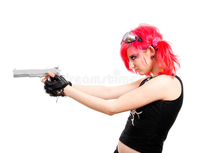 Punk Girl Stock Photography