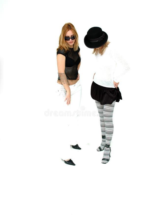 Punk Girls Stock Photos
