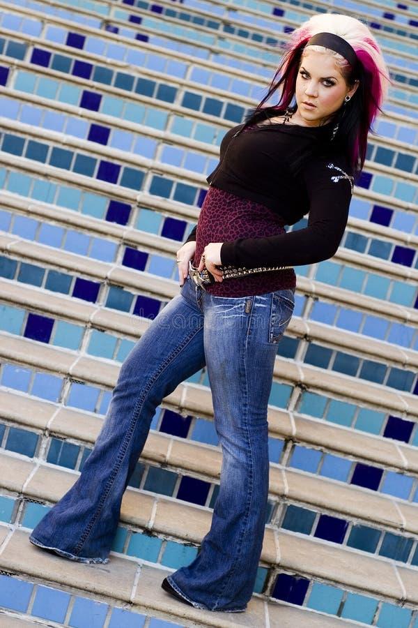 Download Punk Goth Fashion Model stock photo. Image of fake, fashion - 1764222