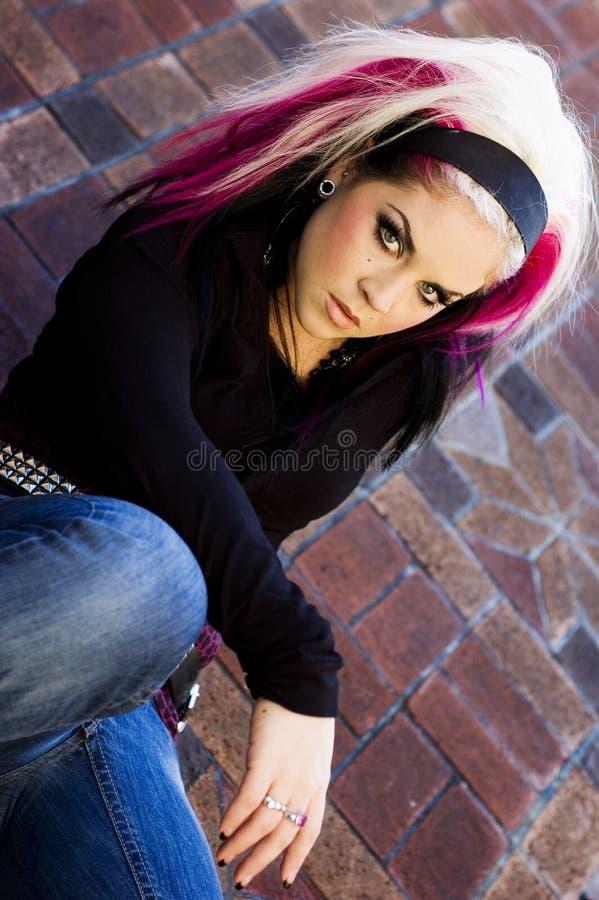 Download Punk Goth Fashion Model stock photo. Image of fashion - 1764234