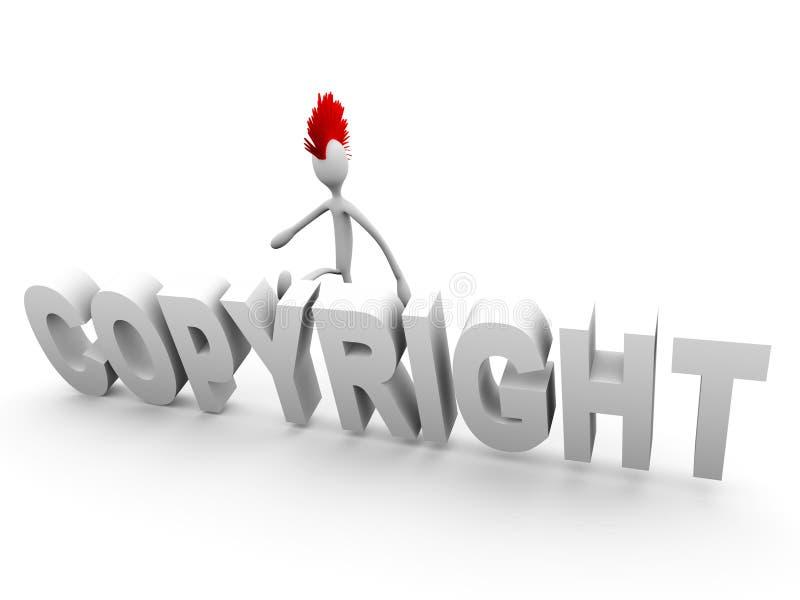 Download Punk kicking copyright stock illustration. Image of defense - 22070390