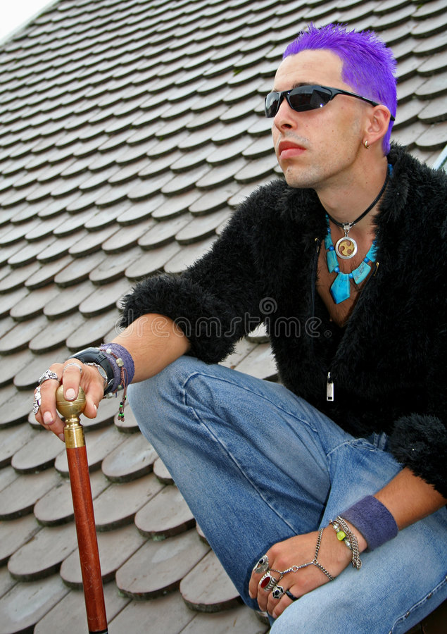 Free Punk On Roof Stock Photos - 1331503