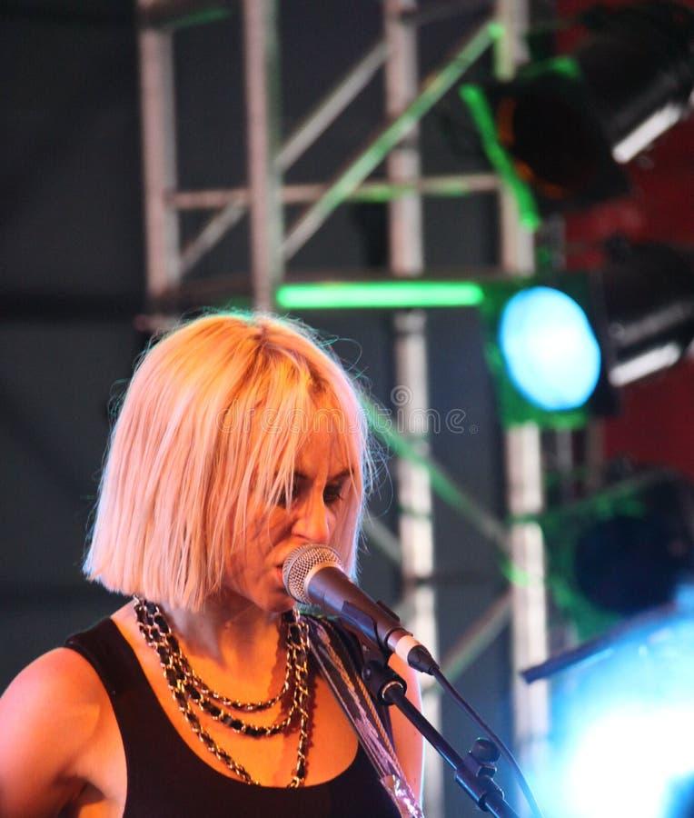 punk ritzy rock bandbryan för formidabel glädje royaltyfria foton