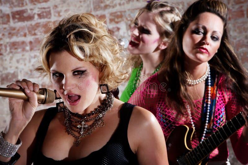 punk rock för band royaltyfria foton