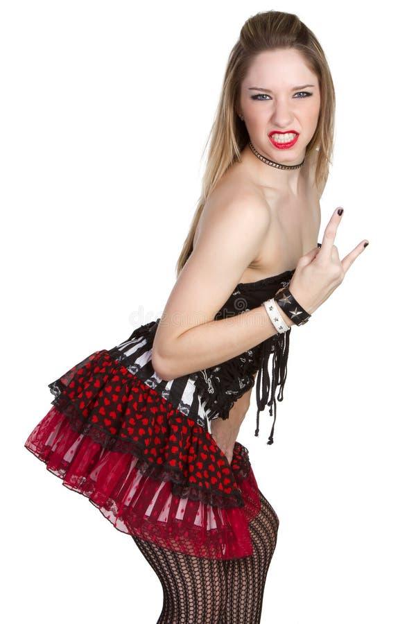Download Punk Rock Girl stock image. Image of portrait, fashion - 12659089