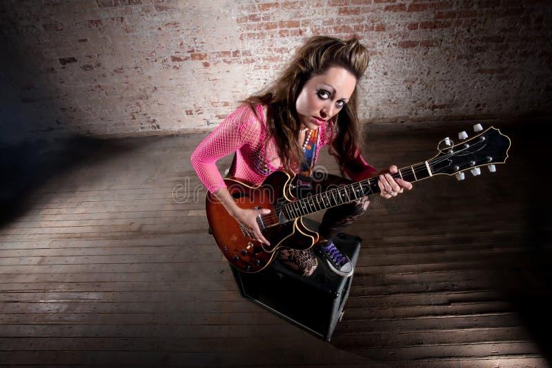 Punk Rock Girl Royalty Free Stock Image