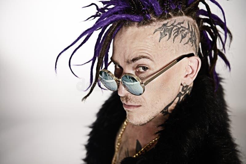 Punk rock-Musikeraufstellung lizenzfreie stockfotografie