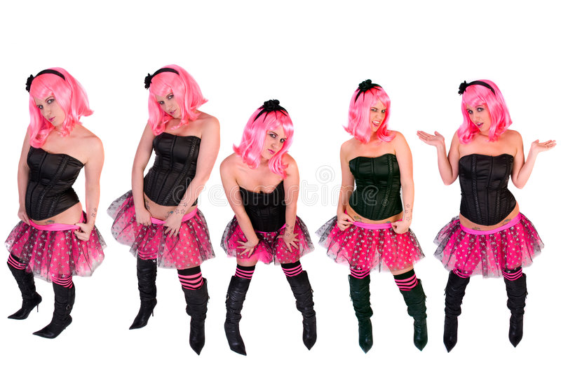 punk stilar royaltyfria bilder