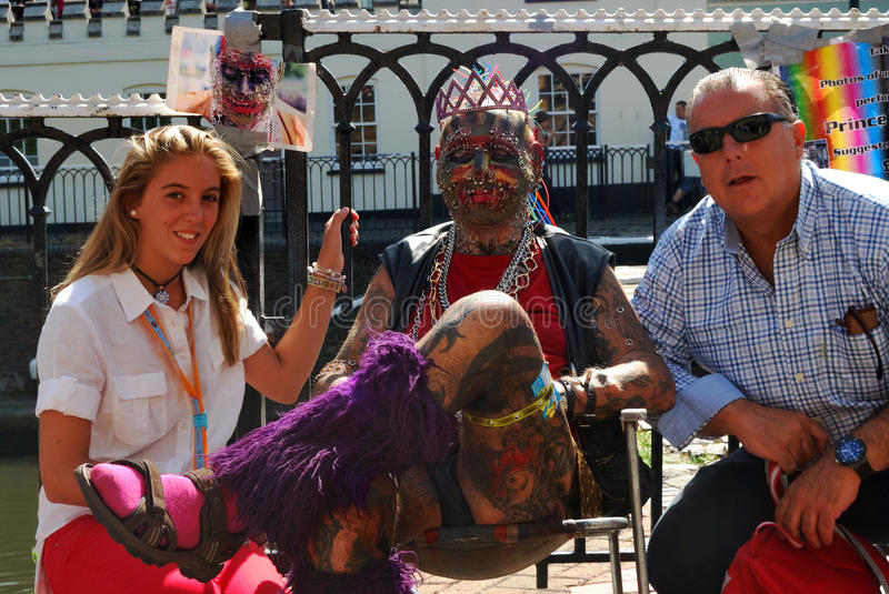 Download Punk and tourists editorial image. Image of sitting, symbol - 23692265