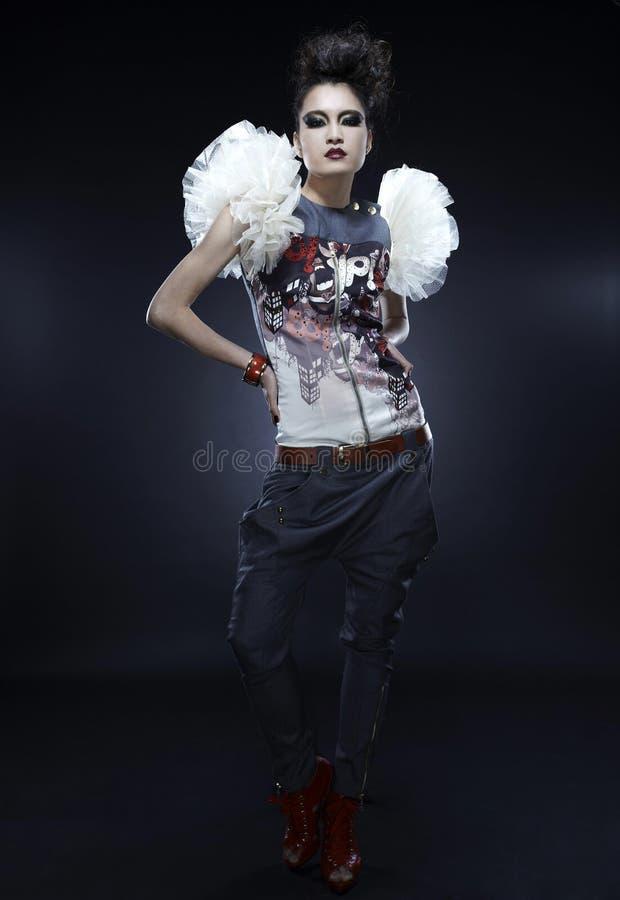 Punkowa kobieta zdjęcia stock