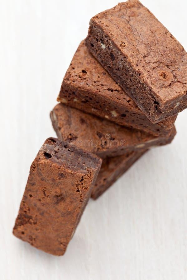 Download Punktów czekolady stos zdjęcie stock. Obraz złożonej z tort - 13333882
