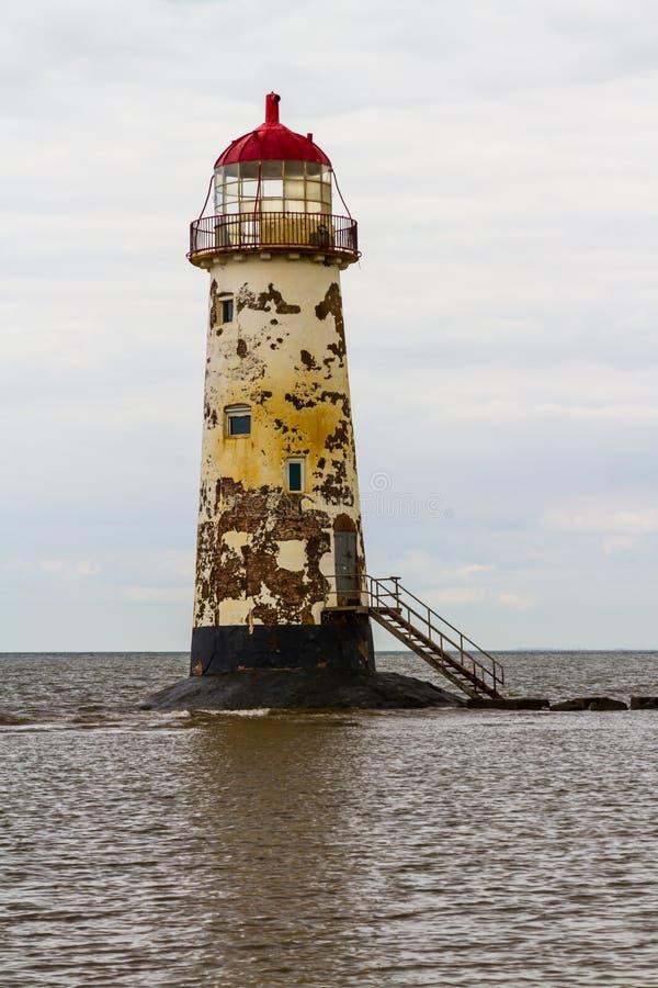 Punkt Ayr latarnia morska zdjęcia royalty free