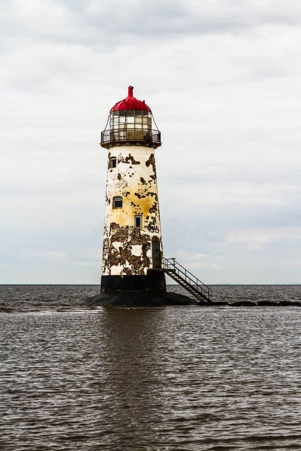 Punkt Ayr latarnia morska obraz royalty free