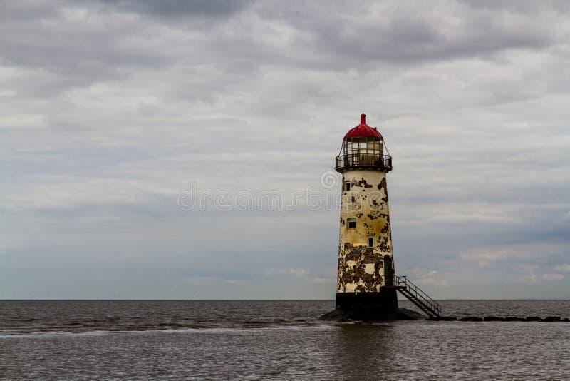 Punkt Ayr latarnia morska zdjęcie stock